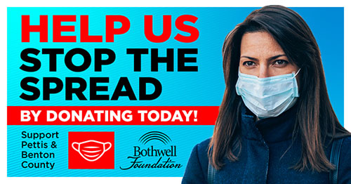 Help Us Stop the Spread by Donating Today. Support Pettis & Benton County. Bothwell Foundation