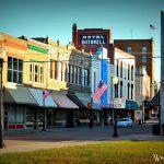 Historic downtown Sedalia buildings