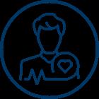 Cardiac Testing and Monitoring Icon