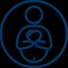 Childbirth support services icon
