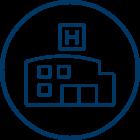 Hospital Care Icon