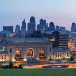 Union Station in the Kansas City skyline