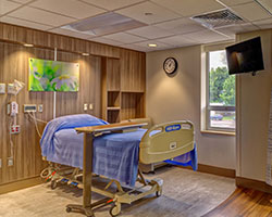 Women's Health and Newborn Care room