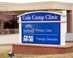 Bothwell Cole Camp Clinic exterior