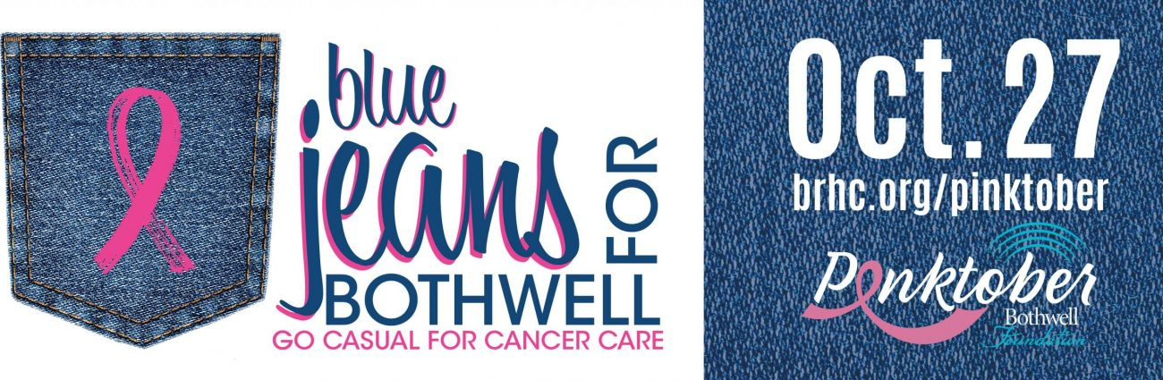 Blue Jeans for Bothwell Breast Cancer Awareness