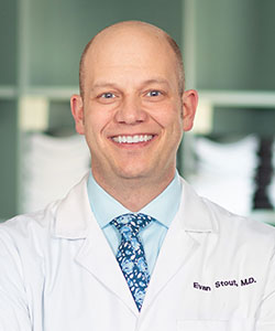 Evan Stout, MD headshot