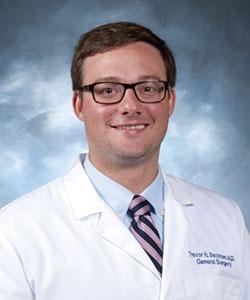 Trevor Beckhman, MD headshot